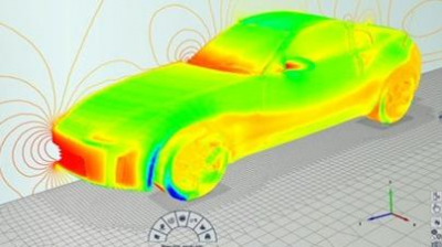 End to end aerodynamic simulation workflow of Drivaer in OMNIS